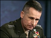 Gen. Peter Pace hates gays, but likes killing