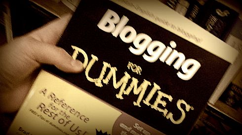 PHOTO: Blogging for Dummies book