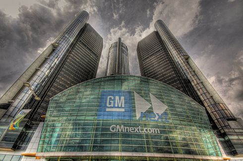 PHOTO: General Motors HQ