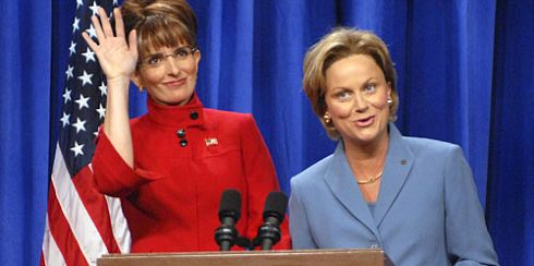 PHOTO: Tina Fey playing Sarah Palin on SNL