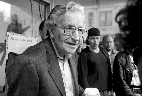 PHOTO: Noam Chomsky