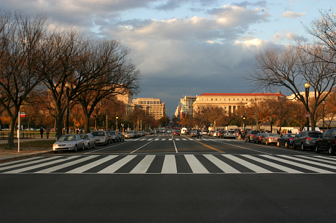 PHOTO: Street in DC