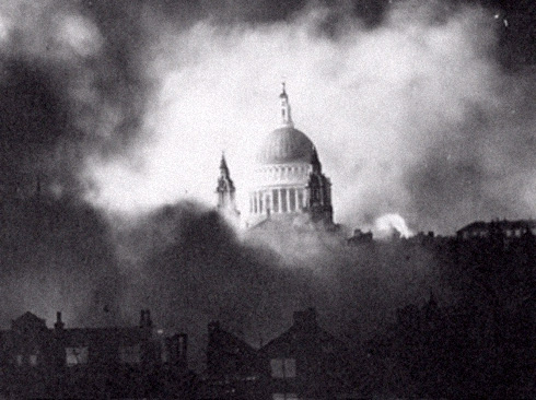 PHOTO: London during the Blitz